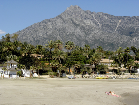 Beach on Costa del Sol