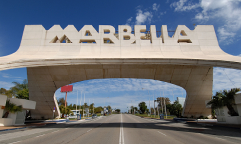 Properties in Marbella city entrance