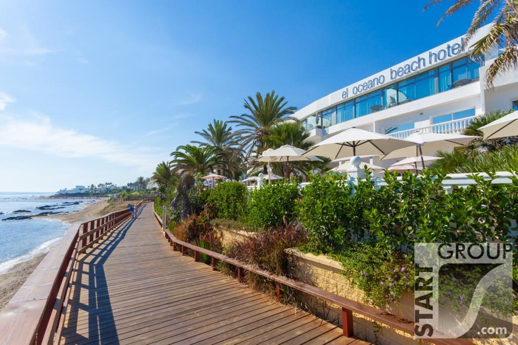 Beach walk Riviera del Sol