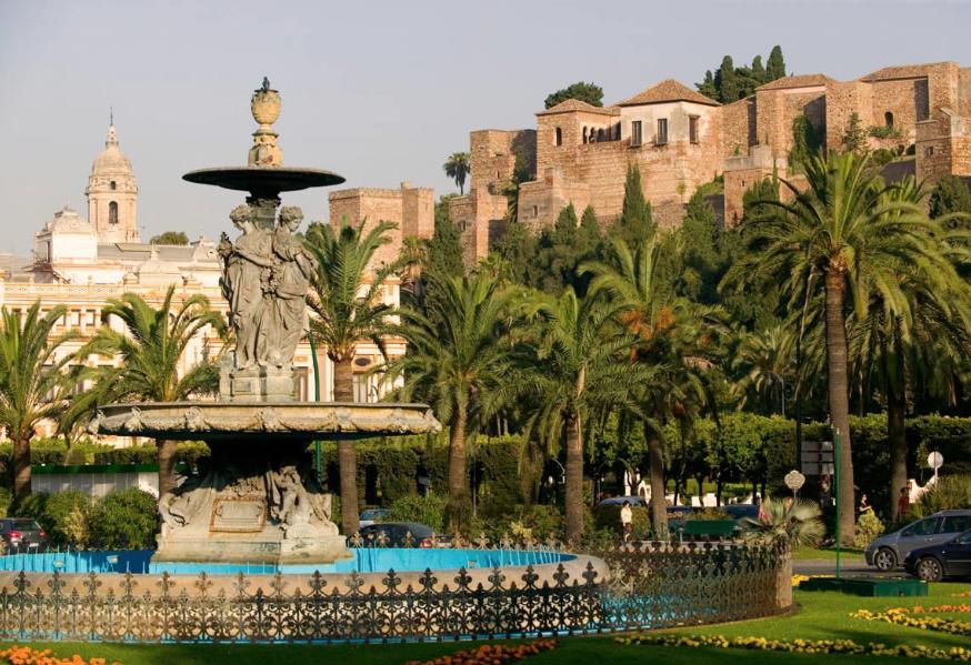Garden in Malaga
