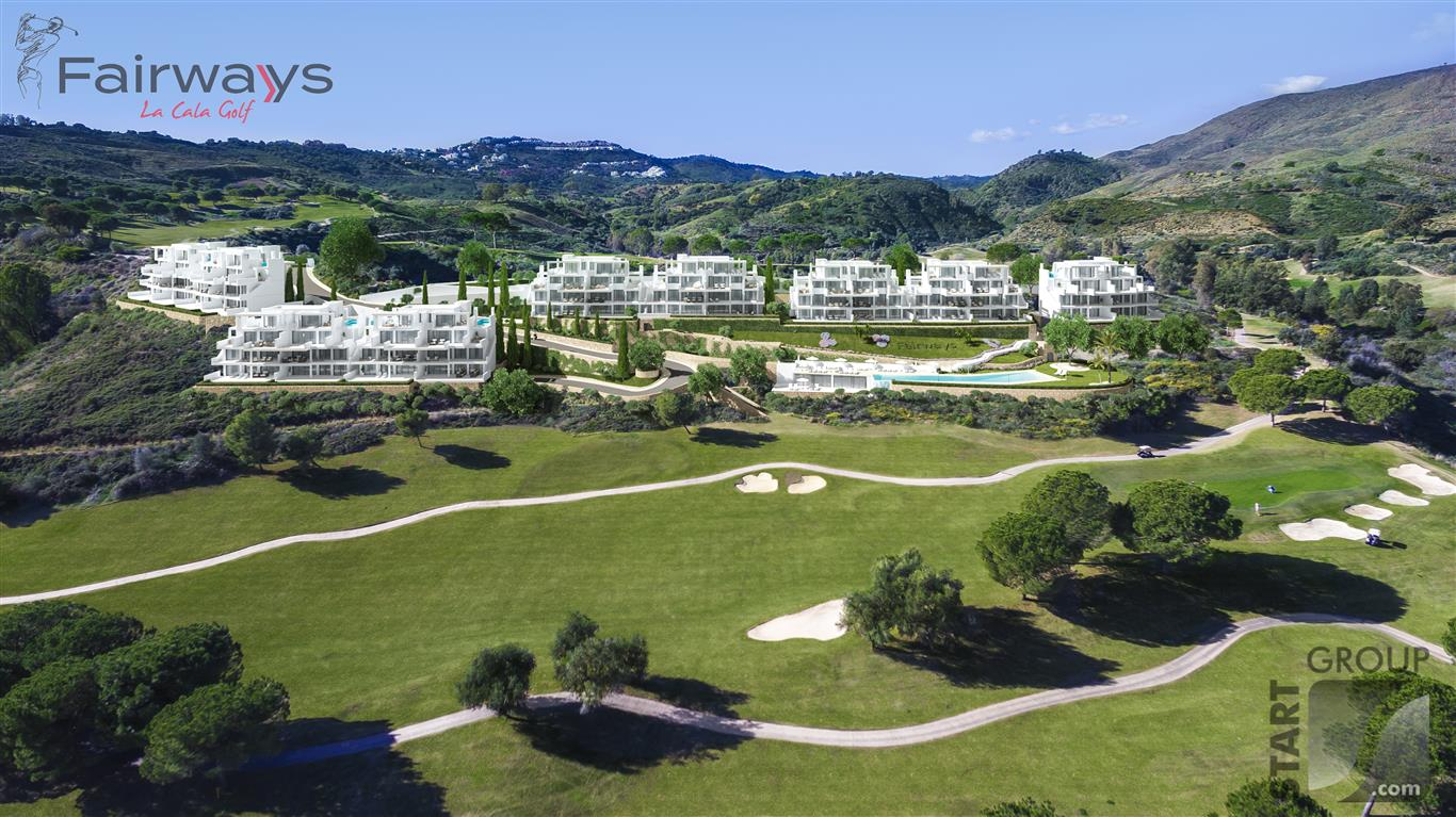 Fairways la Cala Golf Modern new apartments for sale Costa del Sol
