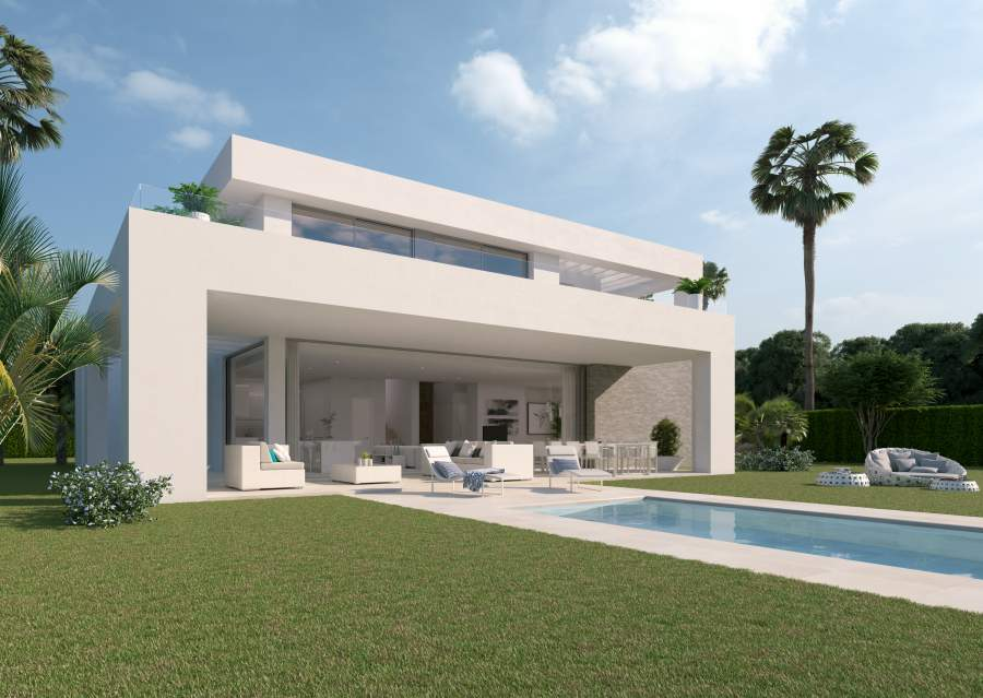 Newly built villa in Mijas