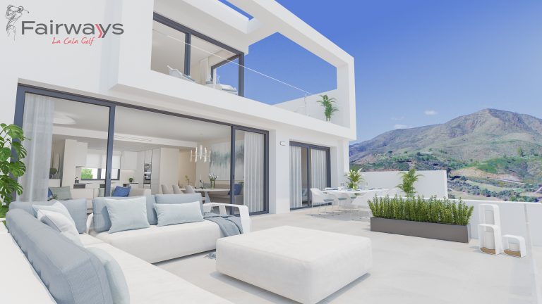 fairways la cala golf new frontline golf apartments for sale in la cala golf resort