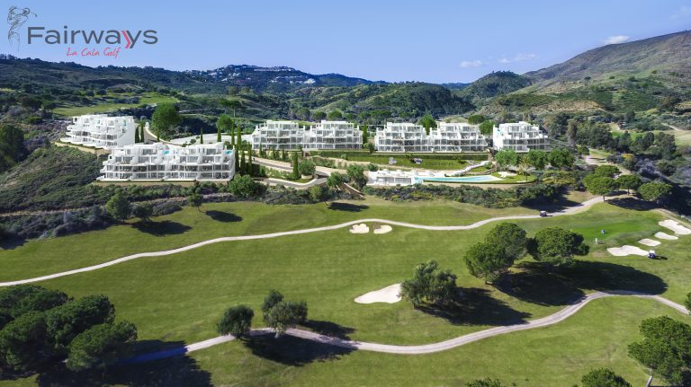 surrounded by golf fairways la cala golf new frontline golf apartments with spa and gym for sale in la cala golf resort