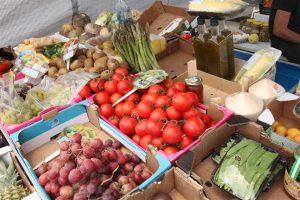 La Cala de Mijas Street Market fruit and vegtables for sale