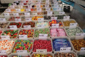 La Cala de Mijas Street Market candy for sale