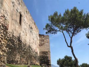 Sohail Castle wall Fuengirola