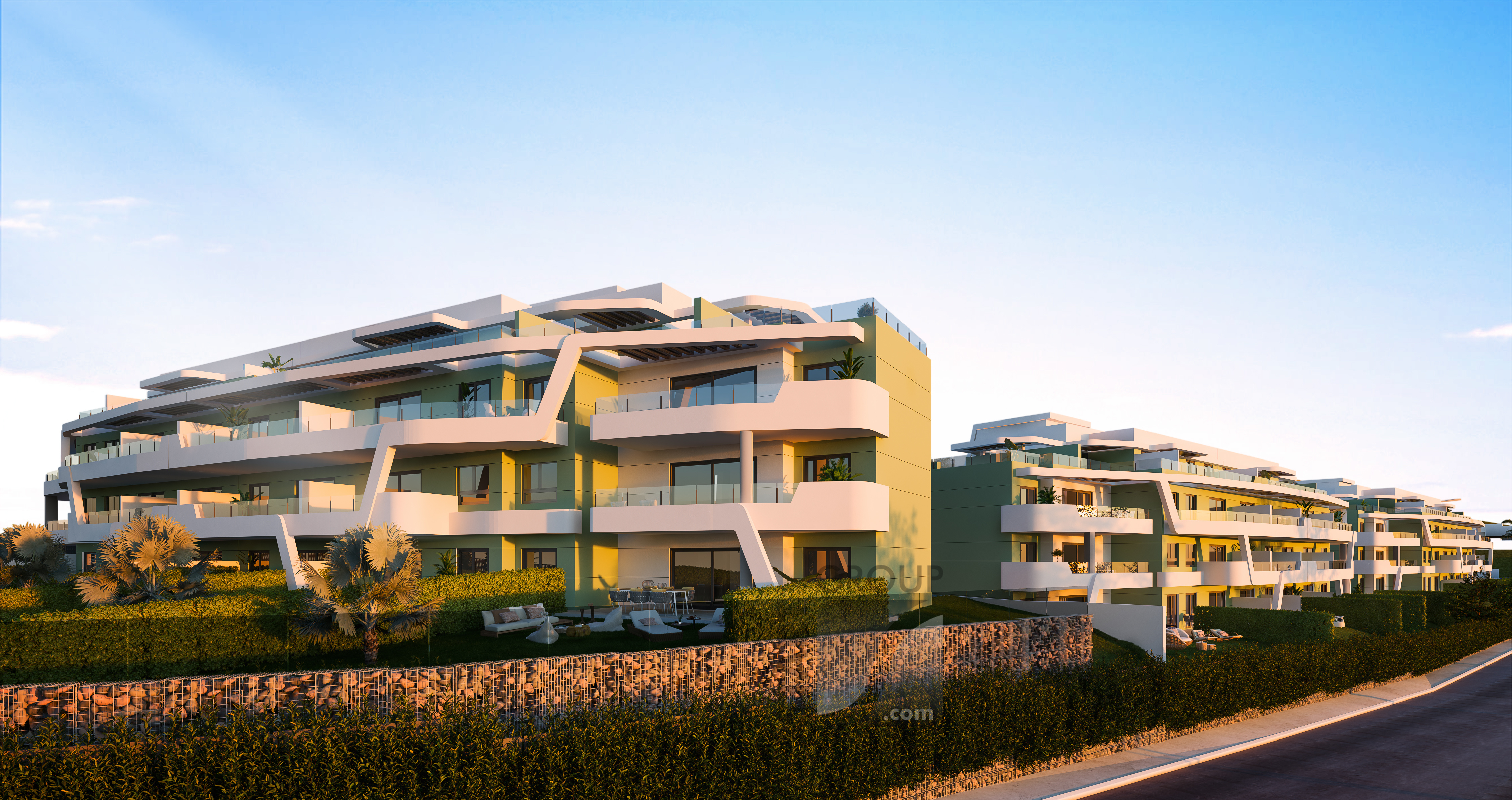 nya moderna lägenheter till salu costa del sol