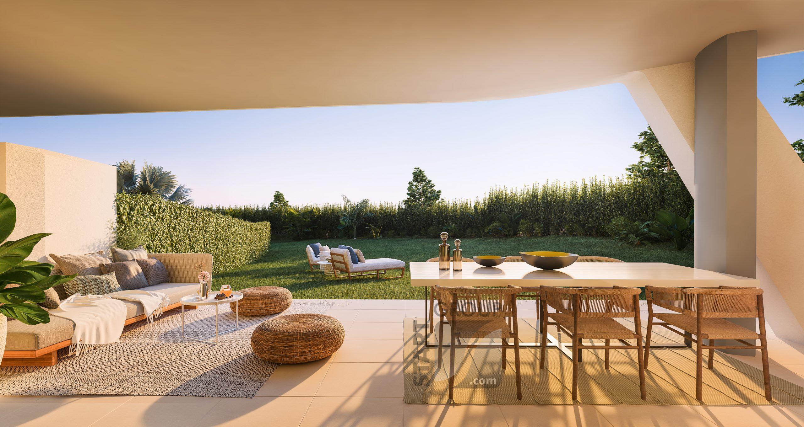 new development with private gardens la cala de mijas spain